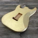 Metallic Glossy Mercury Body - Foglia d'Oro (Stratocaster type)