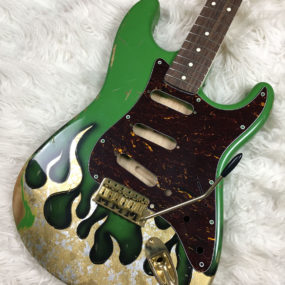 Metal Flames Mercury Body (Stratocaster type)