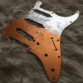 Red Silver Mercury Pickguard (Stratocaster type)