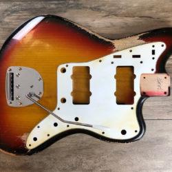 Classic Relic Neptune Body - 3-Color Sunburst (Jazzmaster type)