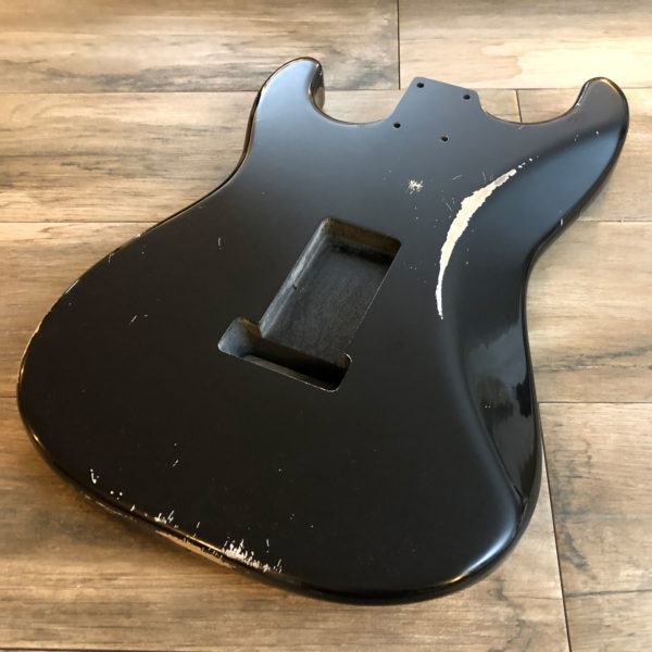 Classic Relic Mercury Body - Black (Stratocaster style)