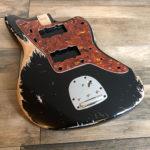 Classic Relic Neptune Body - Black (Jazzmaster type)
