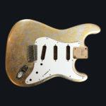 Metallic Impressionist Mercury Body - Foglia Oro/Argento (Stratocaster type)
