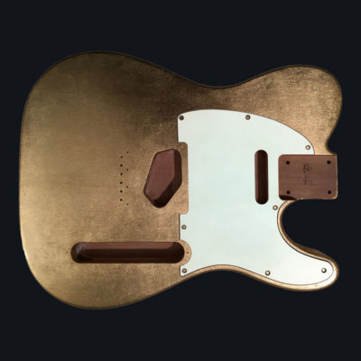 Metallic Glossy Mars Body - Gold Leaf (Telecaster type)