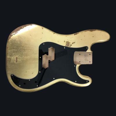 Metallic Relic Jupiter Body - Foglia d'Oro (Precision Bass type)