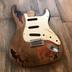 Rory Gallagher Replica (Stratocaster type)