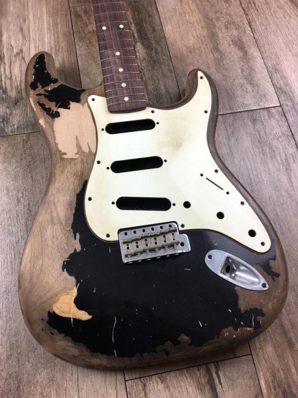 JM Black1 Replica (Stratocaster type)