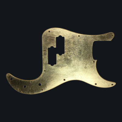 Metallic Glossy Venus Pickguard - Foglia d'Oro (Telecaster Thinline type)
