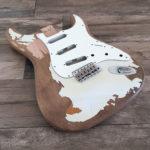 JM Black1 Replica - Olympic White (Stratocaster type)