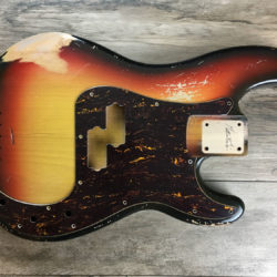 Classic Relic Jupiter Body - 3-Color Sunburst (Precision Bass type)