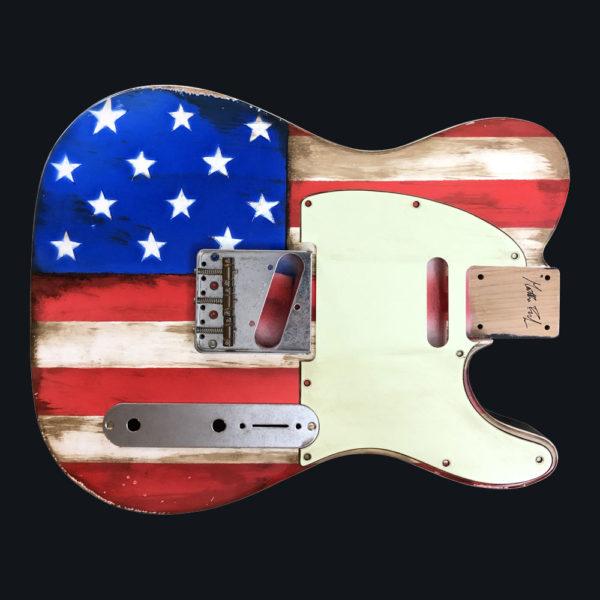 American Flag Mars Body (Telecaster type)