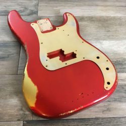 Classic Relic Jupiter Body - Candy Apple Red (Precision Bass type)