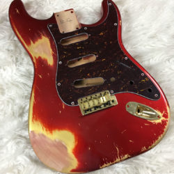 Classic Relic Mercury Body - Candy Apple Red (Stratocaster type)