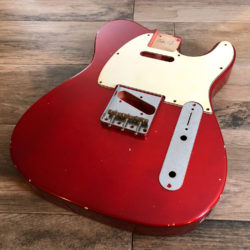 Classic Relic Mars Body - Candy Apple Red (Telecaster type)