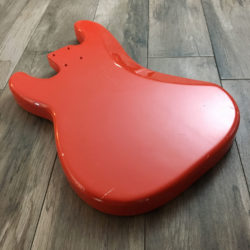 Classic Relic Jupiter Body - Fiesta Red (Precision Bass type)