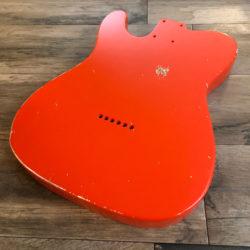 Classic Relic Mars Body - Fiesta Red (Telecaster type)