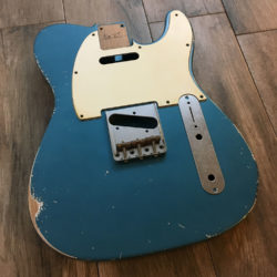 Classic Relic Mars Body - Lake Placid Blue Metallic (Telecaster type)