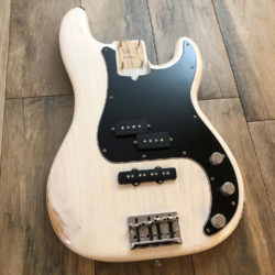 Classic Relic Jupiter Body - Olympic White (Precision Bass type)