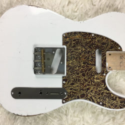 Classic Relic Mars Body - Olympic White (Telecaster type)