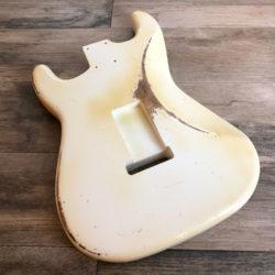 Classic Relic Mercury Body - Olympic White (Stratocaster type)