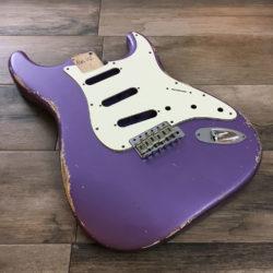 Classic Relic Mercury Body - Purple Metallic (Stratocaster type)