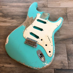 Classic Relic Mercury Body - Sea Foam Green (Stratocaster type)