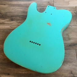 Classic Relic Mars Body - Sea Foam Green (Telecaster type)