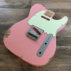Classic Relic Mars Body - Shell Pink (Telecaster type)