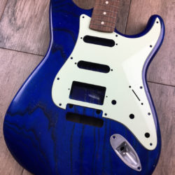 Classic Relic Mercury Body - Transparent Clear Blue (Stratocaster type)