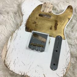 Classic Relic Mars Body - White Blonde (Telecaster type)