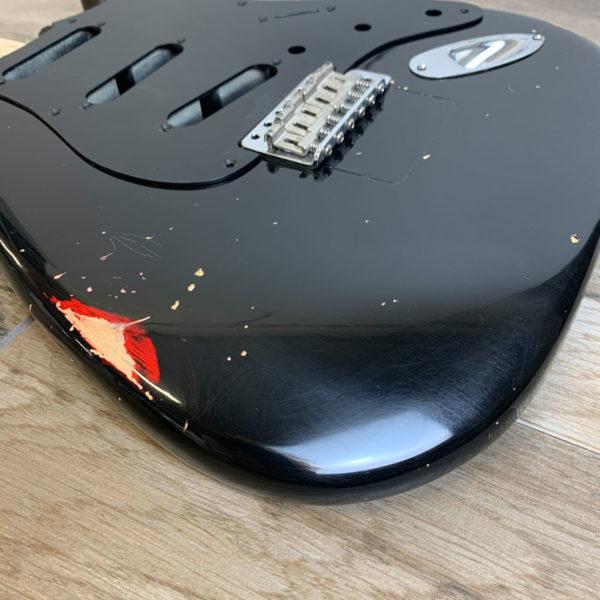 Gilmour's Black Strat Replica (Stratocaster type)