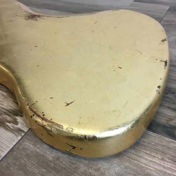 Metallic Relic Neptune Body - Gold Leaf (Jazzmaster type)