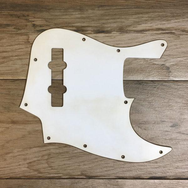 Classic Relic Uranius Pickguard - Vintage White (Jazz Bass type)