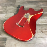 Classic Relic Mercury Thinline Body - Candy Apple Red (Stratocaster type)