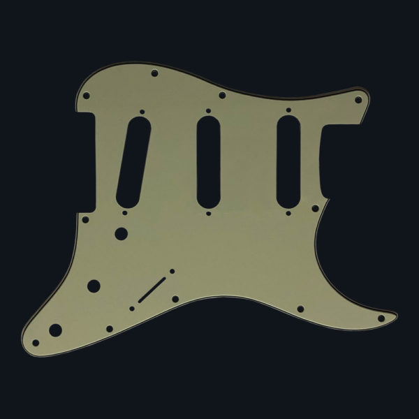 Stratocaster pickguard - Mint Green