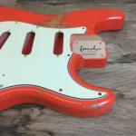 Classic Relic Mercury Body - Fiesta Red (Stratocaster type)