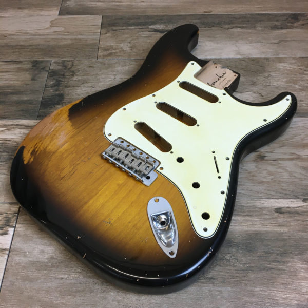 Classic Relic Mercury Body - 2-Color Sunburst (Stratocaster type)