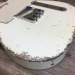 Classic Relic Mars Body - Vintage White (Telecaster type)